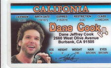 DANE COOK of Mystery Men / Fire & Rescue / Isolated Incident Drivers License