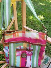 Tyler Rodan Crossbody Organizer Travel Summer Shoulder Bag COLORFUL STURDY!!