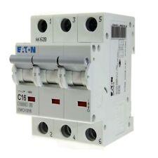 Nuevo Merlin Gerin C60HC C16 16 Amp 25673 10KA triple poste Reja de desminado interruptor de circuito