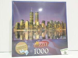 Wrebbit New York Skyline 1000 Pieces Perfalock Jigsaw Puzzle