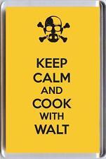 Mantén la calma y cocinar con Walt De Breaking Bad La Serie De Tv, Fridge Magnet