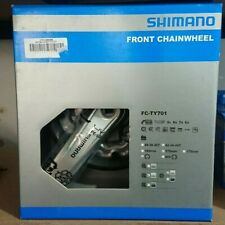 Shimano FC-TY701 Front Chainwheel. 170mm crank. 42-34-24T triple. Silver **NEW**