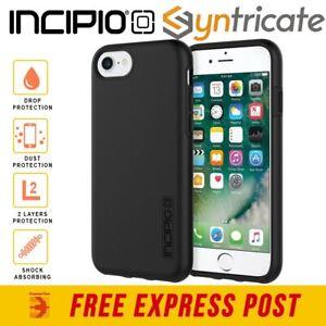 iPhone SE 2 2020/8/7/6s/6 INCIPIO DualPro Rugged Slim Tough Case - Black
