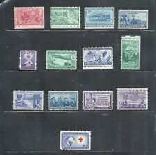 1952 - Commemorative Year Set - Us Mint Stamps - Low Prices Until Sold Out