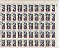 sheet of 50 ADLAI STEVENSON / UNITED NATIONS stamps - Scott #1275 1965 MNH USA