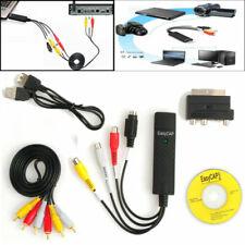 EasyCAP USB 2.0 Audio Video Adapter Capture Grabber VHS-DVD TV  Konverter Karte
