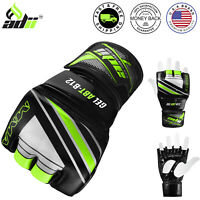 ADii™ MMA Gloves Pro Grappling Glove Sparring UFC Fight Gym Punching Martial Art
