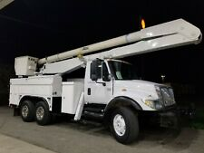 2006 International T/A 61' Bucket Truck Boom Utility Truck Winch Service Utility
