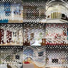 Luxus Kristall Glas Bead Vorhang Living Room Schlafzimmer Fenster Tür Home Decor