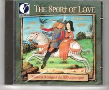 (HJ849) The Sport Of Love, Musica Antigua de Albuquerque - 1999 Sealed CD