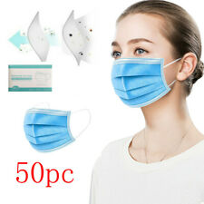 50 Pieces Face Mask Mouth Guard Cover Face Masks Mouth Guard Cover Face Masks