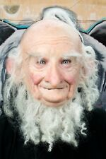 """""""Old Dwarf"""" Silicone Mask  Hand Made, Halloween High Quality, Realistic Unique"""