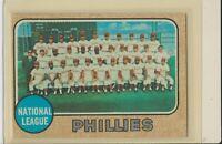 1968 Topps #477 Philadelphia Phillies Team Vintage Baseball Card