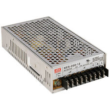 Mean Well MW NES-200-12 12 VDC 17A 200W Regulated Switching Power Supply