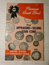 Harco Premium Guide Book 1962 Edition Appraising & Selling Your Coins
