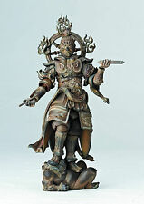Revoltech Takeya Takayuki Buddhist Statue Wooden Collection 002 Komokuten Figure