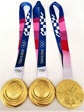 Japan Tokyo 2020 Olympic Games Olympics USA GB Gold Medal 1:1 Scale