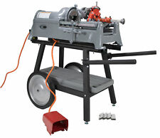 New Listingreconditioned Ridgid 535 V1 Pipe Threader With 811a Head Dies Cart Amp Adapter