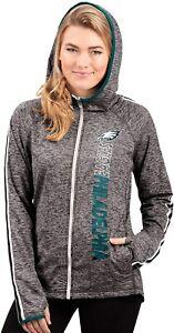 G-III 4her Philadelphia Eagles Women's Free Agent Full Zip Hoody Sweatshirt