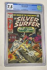 Silver Surfer #9 (Oct 1969) CGC 7.5 Mephisto Appearance