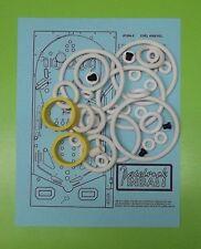 1977 Bally Evel Knievel pinball rubber ring kit