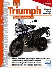 Triumph Tiger 800 ab 2011 Reparatur-Handbuch Reparaturanleitung Reparaturbuch