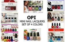 🎄🎄CHRISTMAS'S Gift Set: OPI Mini Nail Lacquer(Set of 4 from Diff. Collections)