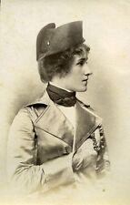 Humoristic Portrait Woman Meudon France Old Photo Delaporte 1875
