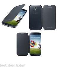 OEM Samsung Folio Flip Cover Pouch Battery Case Black For Galaxy S4 S