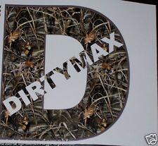 Real Tree M4 CAMO DIRTYMAX decal sticker turbo diesel truck duramax 2500 3500