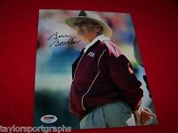 FLORIDA STATE COACHING LEGEND BOBBY BOWDEN Signed Photo 3 PSA CERTIFIED