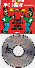CD 7T JIVE BUNNY AND THE MASTERMIXERS MEGAMAXI SWING THE MOOD MINI CD ALBUM 89