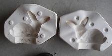 Unique Vintage Dona's Molds Ceramic Mold to Make Baby Bunny Figurine