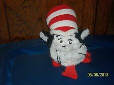 2001 DR SEUSS CAT IN THE HAT PLUSH HAND PUPPET HEAD