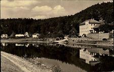AK CSSR Cervena nad VLTAVOU Pension Pazourek Vintage Postcard ca. 1950/60