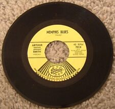 "45 RPM Rockabilly By Arthur ""Guitar Boogie"" Smith, ""Memphis Blues"" on Starday"
