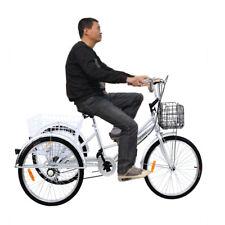 24 Triciclo Adulti bicicletta tre Ruote adulto Shopping Trike 6 Marce Shimano