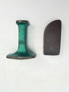 Vintage Crown Toe Panel Beaters Curved Dolly & Dowidat Double End Curved Dolly