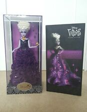 Disney Store Designer Villians THE LITTLE MERMAID URSULA Limited Edition Doll