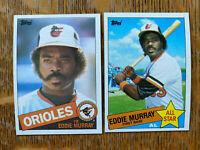 1985 BALTIMORE ORIOLES Topps COMPLETE Team Set 31 Cards RIPKEN MURRAY BODDICKER