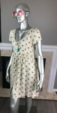 DENIM & SUPPLY Ralph Lauren FLORAL Calico Colby BABYDOLL Button Down Dress M 👗