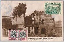 DOMINICANA -  POSTAL HISTORY: POSTCARD from LA VEGA to Czechoslovakia 1929