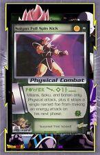 🌈Saiyan Full Spin Kick - #19 - Dragon Ball Card - CCG TCG English