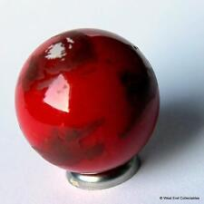 Mars Globe Marble - 25mm Glass Cosmic Planet - Martian World Solar System Orrery