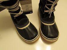 Sorel Womens Joan Of Arctic Knit II Winter Boots NL2142-010 Black Waterproof /8