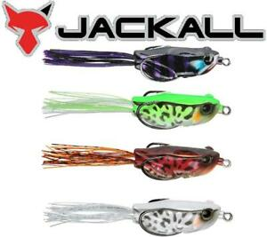 "Jackall Kaera Frog 2.2"" 1/2oz. Topwater Soft-Body Frog (Select Color) JKAERA"