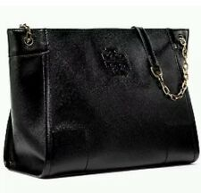 Last 1 Tory Burch Britten Large Slouchy Tote Black Patent Leather Dust Bag