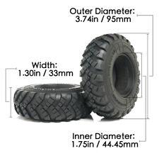 """Soviet Version 1.75"""" Tire (2pcs) fit for 1/12 Soviet ZIS150/CA30/Tamiya RC Truck"""
