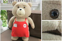18'' Ted Movie Teddy Bear With Shirt Plush Stuffed Animal Toy Doll Birthday Gift