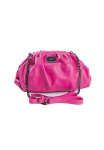 THOM by Thomas Rath Tasche Umhängetasche pink echt Leder Kette inkl. Dustbag